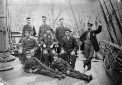 Unknown crew on deck