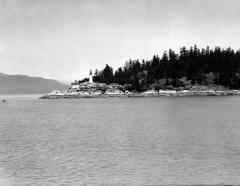 Point Atkinson, photo taken from ship