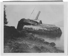 "The wreck of the ""<i>Beaver</i>"""
