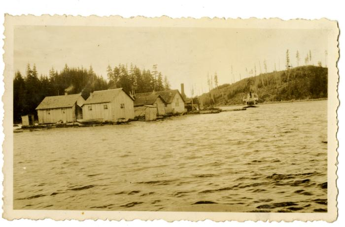 Clay Anderson's logging camp moving out of Granite Bay (VMM71.55)